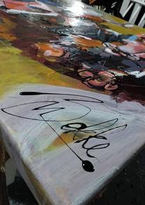 Versekunst - Schilderij feest